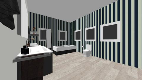 Paris themed bedroom - Modern - Bedroom  - by mariarosaly