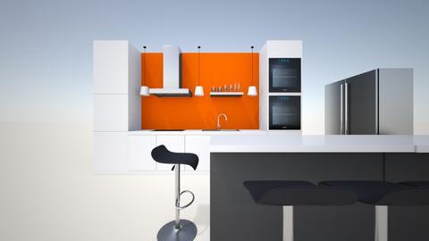 mama dream kitchen - Modern - Kitchen  - by astrodreemah