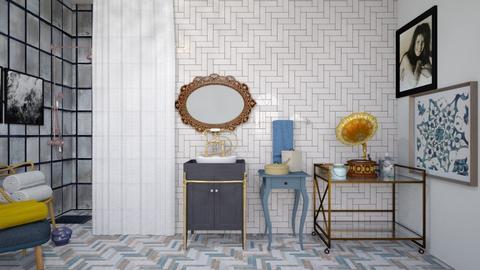 Art Deco - Bathroom  - by CitrusSunrise