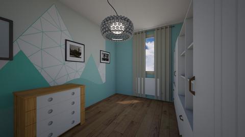 Iwaszkiewicza_Olawa_Just6 - Kids room  - by mbanikzakupy