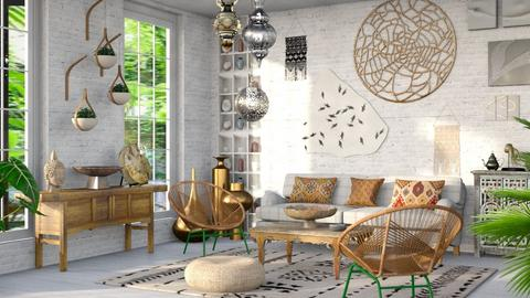 Bohemian like you - Eclectic - Living room  - by kitty