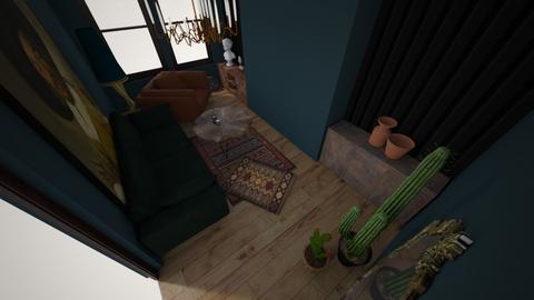Green room - Rustic - Living room - by dkus