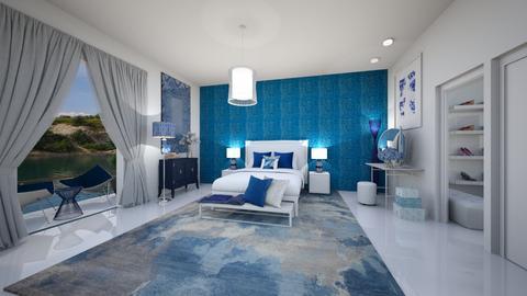 Modern Greek Bedroom - Bedroom  - by MyDesignIdeas