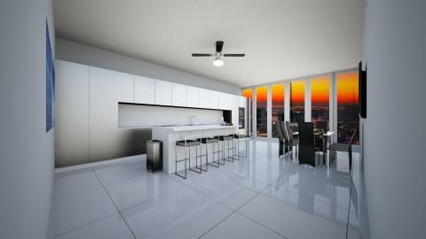 Kitchen with view - Modern - Kitchen - by eunika166