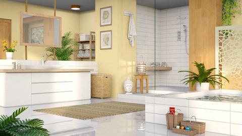 Yellow Bathroom - Bathroom  - by LB1981