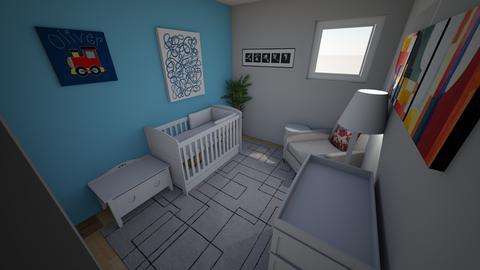 Nursery Example Blue - Kids room  - by mgeiger