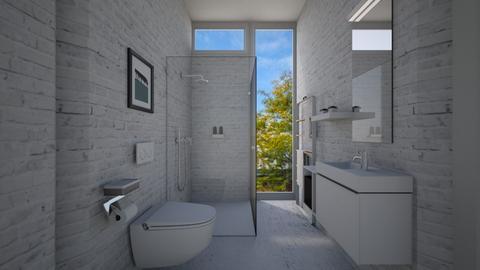 Casa165Bathroom - Eclectic - Bathroom - by nickynunes