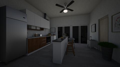 Kitchen 0805 - Modern - Kitchen  - by CLINTON NGUYEN