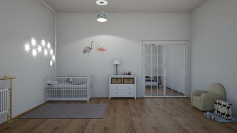 Baby Girl - Modern - Kids room  - by matildabeast