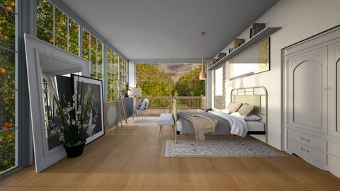 Italy - Classic - Bedroom  - by evabarrett