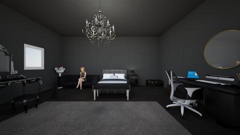 Dark - Bedroom  - by Tiarabtslover