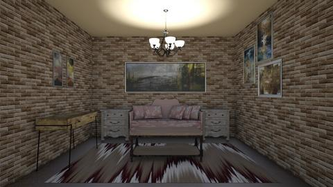 Rustic Living - Rustic - Living room  - by Emoana3652
