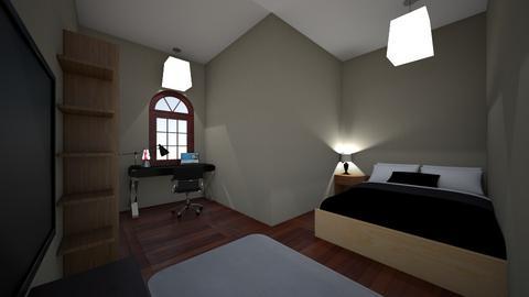 Dean DeSiano 3b - Rustic - Bedroom  - by lilg129class