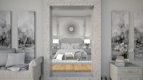 Through the Looking Glass - Glamour - Bedroom  - by Sally Anne Design