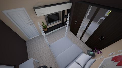 konecni navrh spalne3 - Bedroom - by Grafit