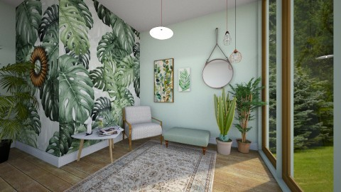 Green veranda  - by karla997