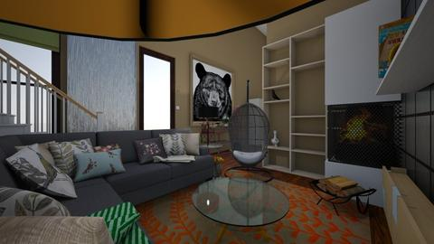 TheNewMe2019 - Eclectic - Living room  - by natural11