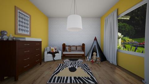 baby room - by rojasveronik