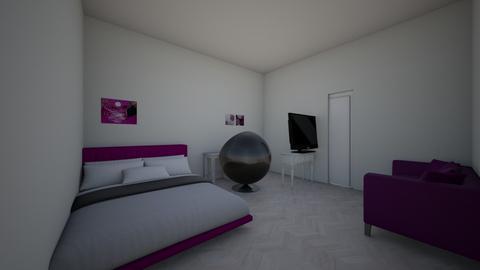 camera dei sogni di Anna - Bedroom  - by luanameccia