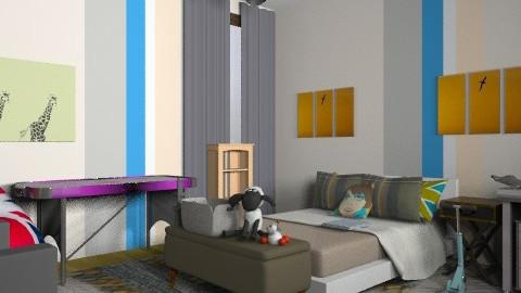 Sick Room - Modern - Kids room  - by dipselvic