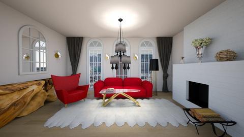 parisian design - Living room  - by magdasmo