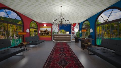 Serbian embassy - Classic - Office  - by BlackOrchidea