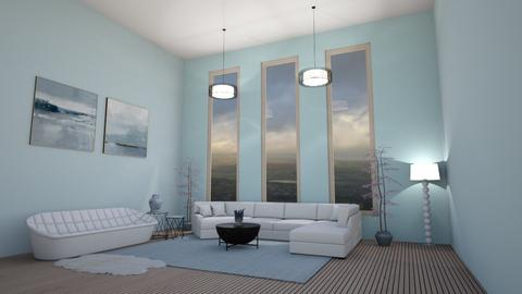 Calm skys - Modern - Living room - by rcrites457