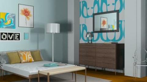 Tween Retreat - Retro - Bedroom - by Cortney D