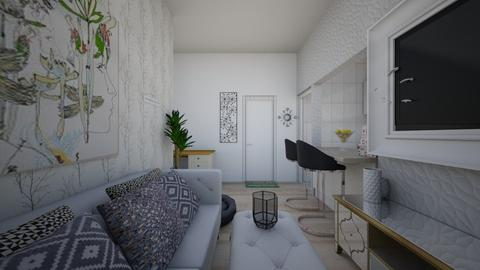 sala de apartamento - Feminine - Living room  - by Carolina Araujo_809