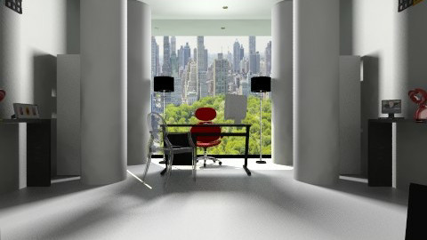 Modern Study - Modern - Office - by MiliOtero