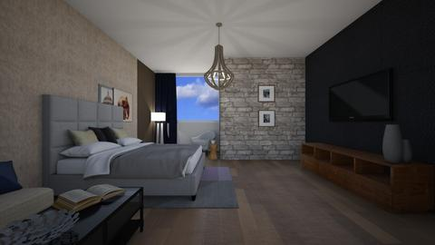 bedroom - Modern - Bedroom - by Silverstream