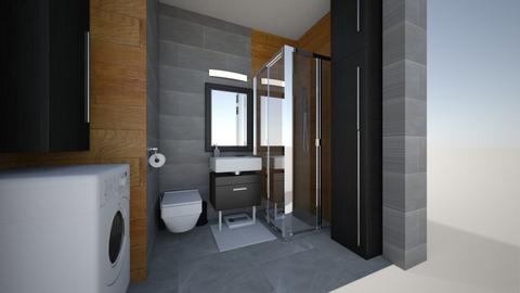 Lazienka 2 - Bathroom  - by KasiaBogu