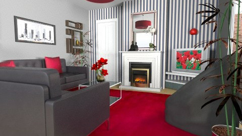 For Matthew - Eclectic - Living room  - by Theadora