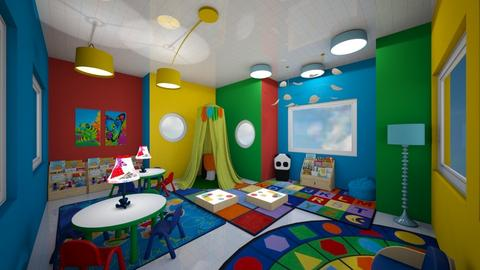 library - Kids room  - by willowconley