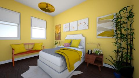 mellow yellow - Bedroom  - by darwms