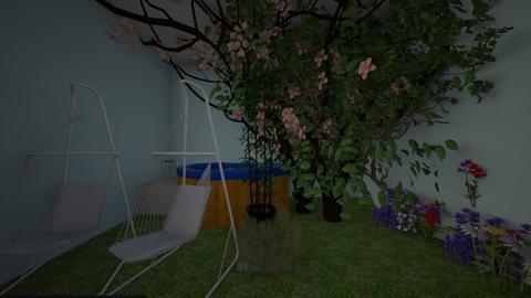 patio garden - by Chardesigner