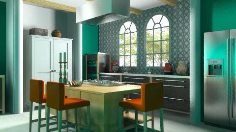 Jade K Orange - Modern - Kitchen  - by 3rdfloor