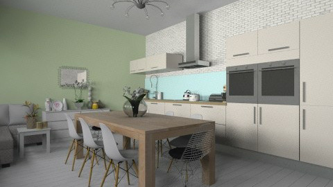 kitkat - Modern - Kitchen - by martinabb