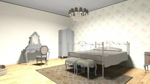 quarto antigo - Vintage - Bedroom  - by isabellaleite