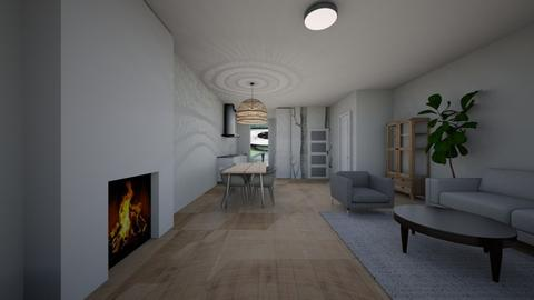woonkamer Oegstgeest - Living room - by Estherembosch