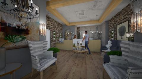 Hotel Reception Interiors - Modern - Living room  - by Nikos Tsokos