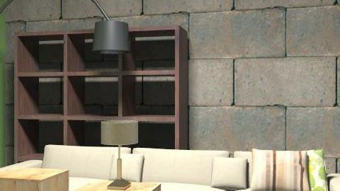 livingroom22 - Retro - Living room  - by anakitanov