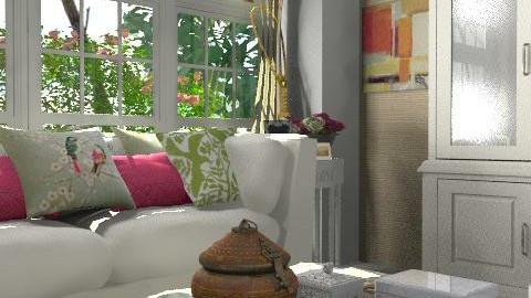 sala - Rustic - Living room  - by Fernanda Balbuena