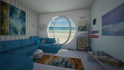Beach House - Modern - Living room - by BarcaNumber10