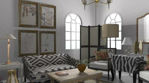 BWG - Eclectic - Living room  - by hunny
