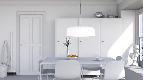 Blanc - Minimal - Dining room  - by HenkRetro1960
