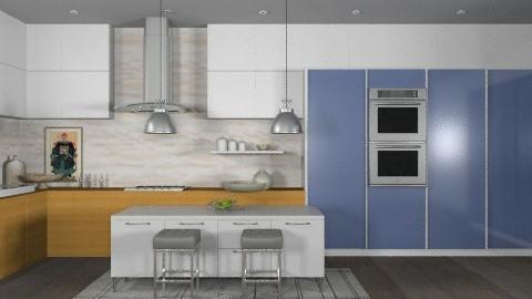 Random Spaces - Condo Kitchen - Modern - Kitchen  - by LizyD