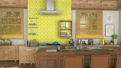 Free Spirit: Kitchen - Eclectic - Kitchen  - by reedj0218