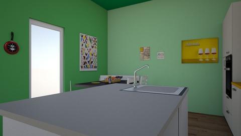 Fun Kitchen1 - Kitchen  - by jpowers317