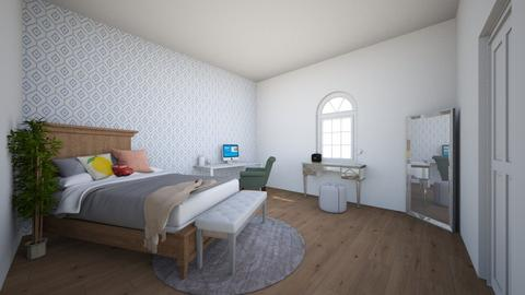 Room design project - Bedroom  - by AriannaDaniels1017